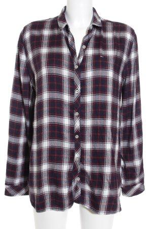 Hilfiger Denim Hemd-Bluse Karomuster klassischer Stil