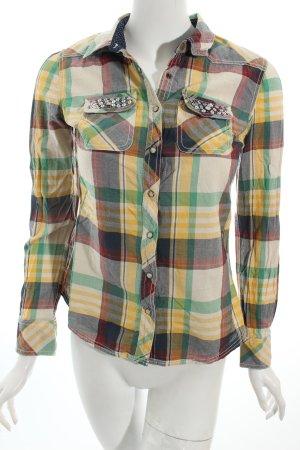 Hilfiger Denim Hemd-Bluse Karomuster sportlicher Stil