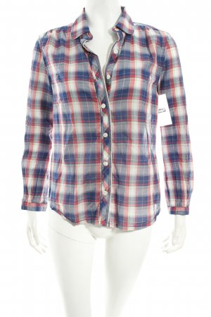 Hilfiger Denim Hemd-Bluse mehrfarbig Street-Fashion-Look