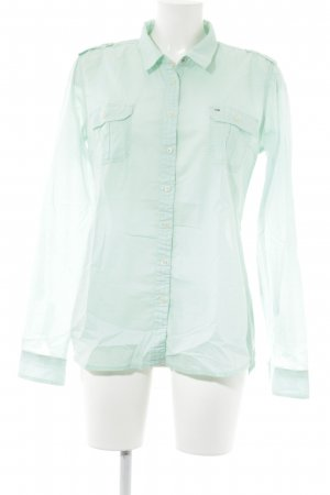 Hilfiger Denim Hemd-Bluse mint Casual-Look