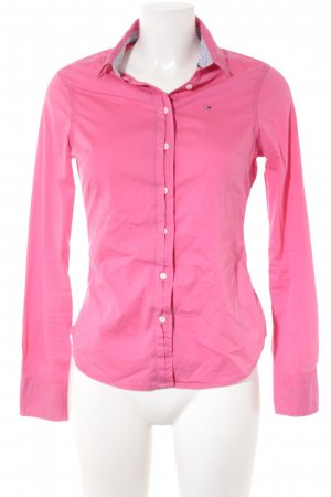 Hilfiger Denim Hemd-Bluse pink Business-Look