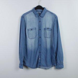 Hilfiger Denim Shirt met lange mouwen blauw Katoen