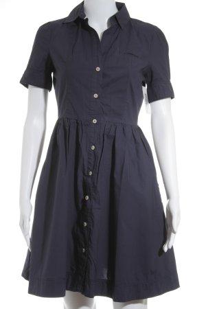 Hilfiger Denim Hemdblusenkleid dunkelblau klassischer Stil