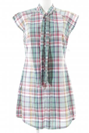 Hilfiger Denim Shirtwaist dress check pattern beach look