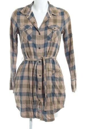 Hilfiger Denim Abito blusa camicia motivo a quadri stile country