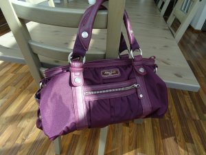 Hilfiger Denim Carry Bag purple nylon