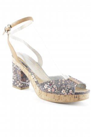 Hilfiger Denim High Heel Sandal flower pattern casual look