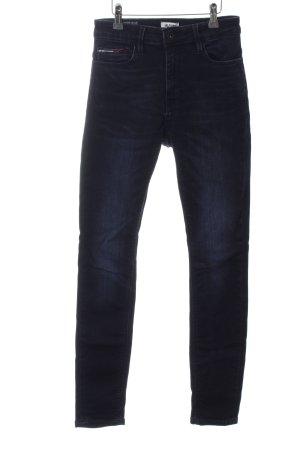 Hilfiger Denim Hoge taille jeans blauw casual uitstraling