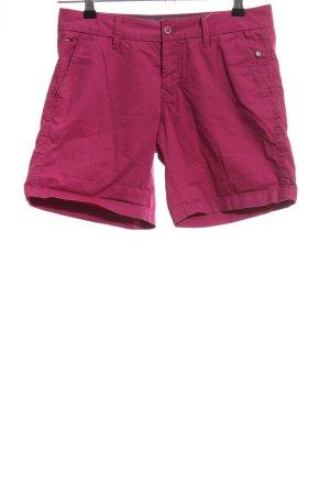 Hilfiger Denim High-Waist-Shorts pink Casual-Look
