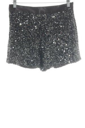 Hilfiger Denim High-Waist-Shorts schwarz Party-Look
