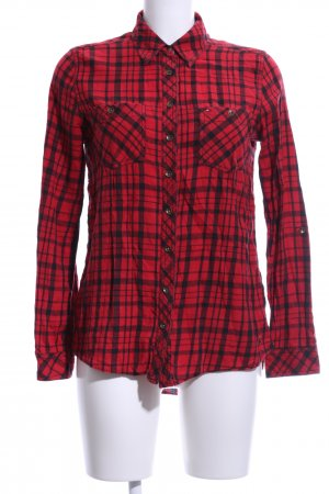 Hilfiger Denim Lumberjack Shirt red-black check pattern casual look