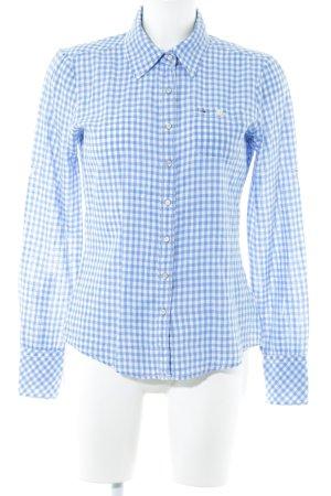 Hilfiger Denim Camicia da boscaiolo blu acciaio-bianco motivo a quadri Vichy