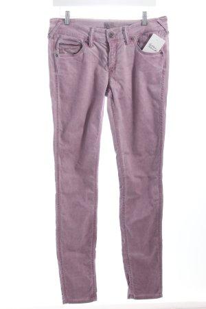 Hilfiger Denim Pantalon mauve style décontracté