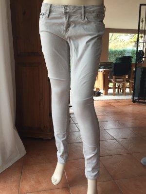 Hilfiger Denim Skinny Jeans light grey cotton