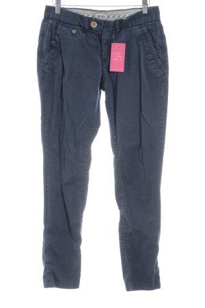 Hilfiger Denim Pantalon taille basse bleu foncé style décontracté