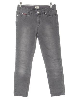 Hilfiger Denim Pantalone a vita bassa grigio stile atletico