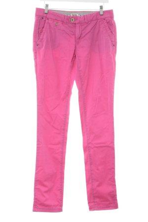 Hilfiger Denim Pantalon taille basse rose style décontracté