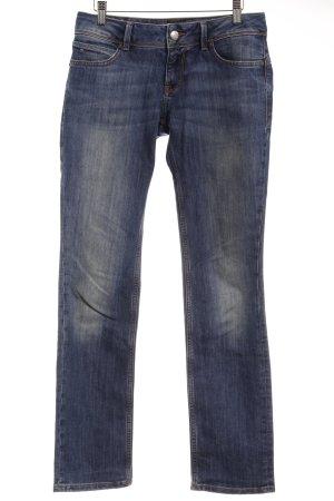 Hilfiger Denim Hüftjeans dunkelblau Jeans-Optik