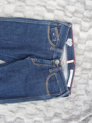Hilfiger Denim Stretch Jeans dark blue cotton