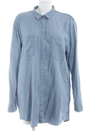Hilfiger Denim Jeansbluse kornblumenblau Casual-Look