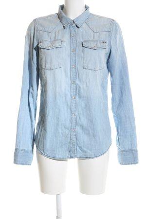 Hilfiger Denim Chemise en jean bleu style décontracté