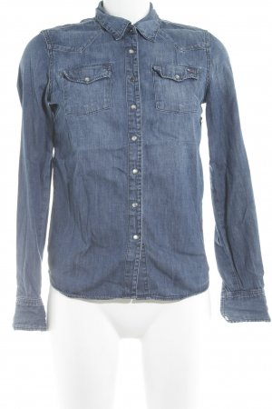 Hilfiger Denim Jeanshemd blau Casual-Look