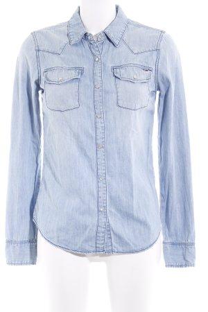 Hilfiger Denim Denim Shirt light blue casual look