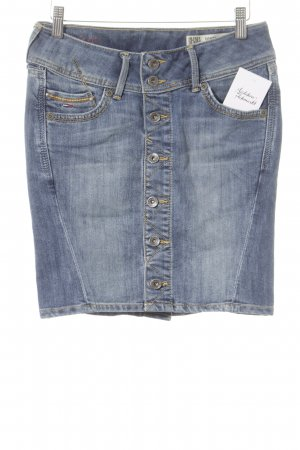Hilfiger Denim Jeansrock blau Street-Fashion-Look