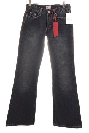 Hilfiger Denim Jeansschlaghose dunkelblau 80ies-Stil