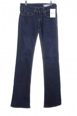 Hilfiger Denim Jeansschlaghose dunkelblau Jeans-Optik