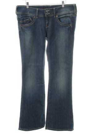 Hilfiger Denim Jeans a zampa d'elefante blu acciaio stile jeans