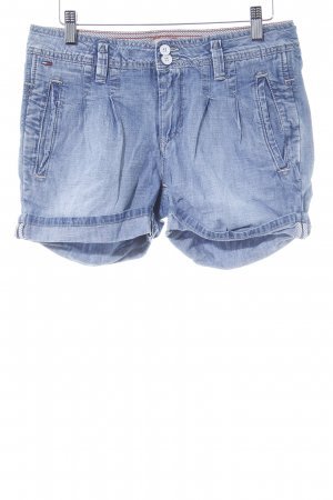 Hilfiger Denim Jeansshorts kornblumenblau-himmelblau Casual-Look