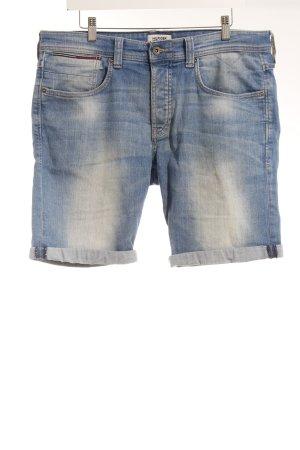 Hilfiger Denim Jeansshorts stahlblau Casual-Look