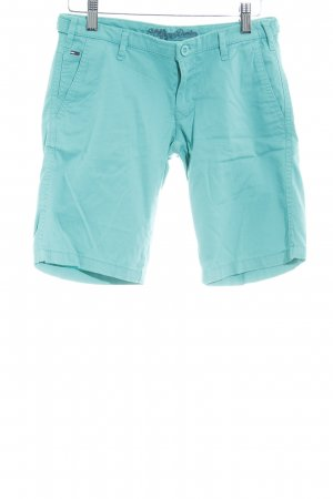 Hilfiger Denim Short en jean turquoise style simple