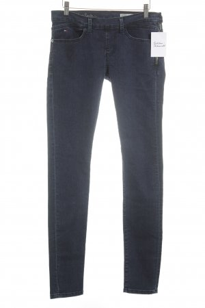 Hilfiger Denim Jeggings blu scuro stile da moda di strada