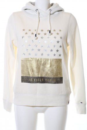 Hilfiger Denim Hooded Sweatshirt printed lettering casual look