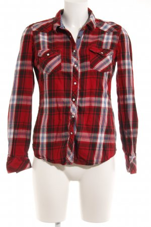 Hilfiger Denim Karobluse Karomuster Country-Look