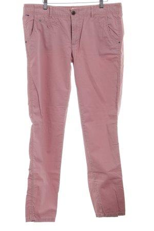 Hilfiger Denim Pantalón de pinza alto rosa empolvado look casual