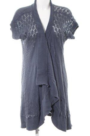 Hilfiger Denim Short Sleeve Knitted Jacket light grey casual look