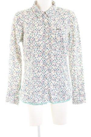 Hilfiger Denim Langarm-Bluse Blumenmuster Casual-Look