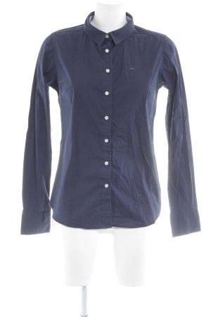 Hilfiger Denim Langarm-Bluse dunkelblau Business-Look