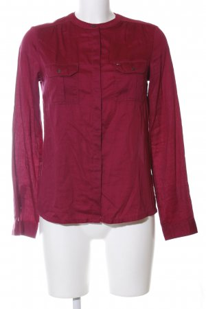 Hilfiger Denim Langarm-Bluse rot Casual-Look