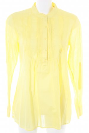 Hilfiger Denim Langarm-Bluse gelb Business-Look