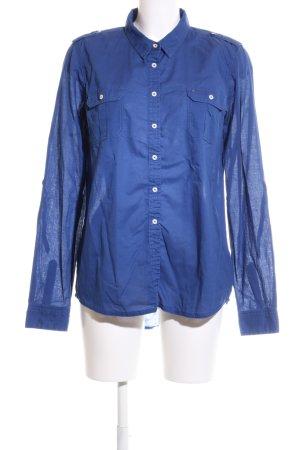 Hilfiger Denim Langarmhemd blau Business-Look