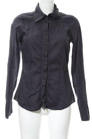 Hilfiger Denim Langarmhemd dunkelblau Casual-Look