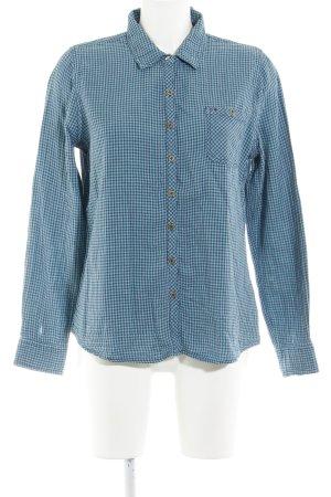 Hilfiger Denim Langarmhemd kadettblau-dunkelblau Sternenmuster Casual-Look