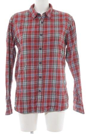 Hilfiger Denim Camisa de manga larga estampado a cuadros estilo boyfriend