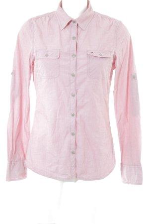 Hilfiger Denim Langarmhemd rosa Casual-Look