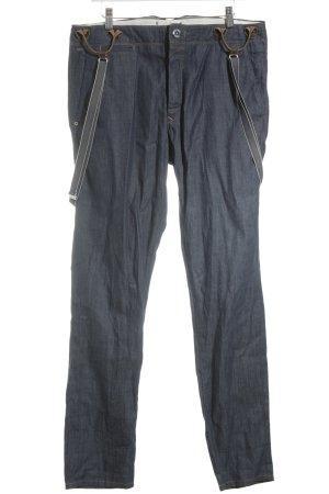 Hilfiger Denim Jeans met bovenstuk blauw-lichtbruin casual uitstraling