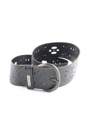 Hilfiger Denim Leather Belt black casual look